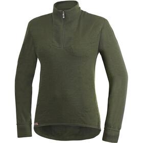 Woolpower 200 Sweat-shirt à col roulé avec demi-zip Femme, pine green